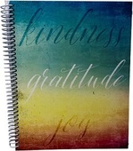 Kindness, Gratitude, Joy Journal (2-Ply Board Cover, Round Corners)