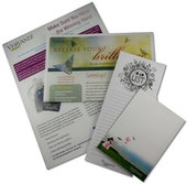 Newsletters, Notepads & Certificates Samples