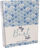 My Best Life 2020 Spiral Planner (On-Demand Soft Cover)