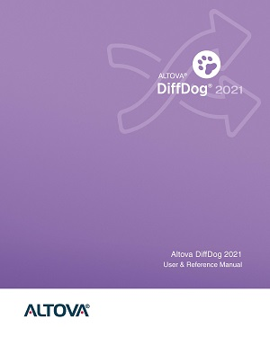 Altova DiffDog 2021 User & Reference Manual