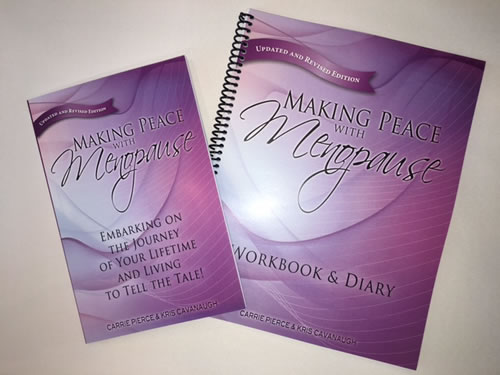 Making Peace with Menopause Book + Workbook & Journal