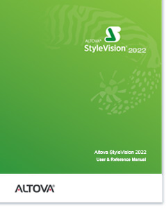 Altova StyleVision 2020 User & Reference Manual