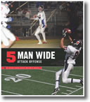 5 Wide Attack Offense (Book + 10 DVDs)