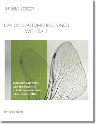Day One: Automating Junos® with Salt