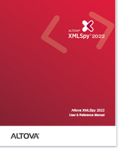 Altova XMLSpy 2020 User & Reference Manual