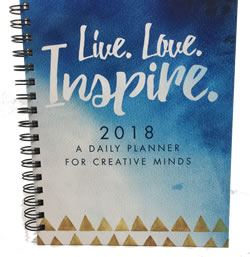 Vervante 2018 Wire-O Planner (INK JET Hard Cover)